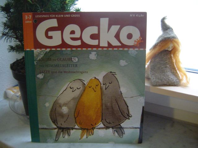 Das ist die Gecko Kinderzeitschrift